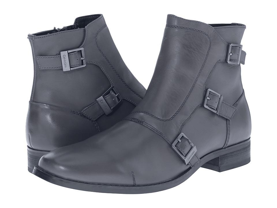 Calvin Klein - Stark (Grey Leather) Men