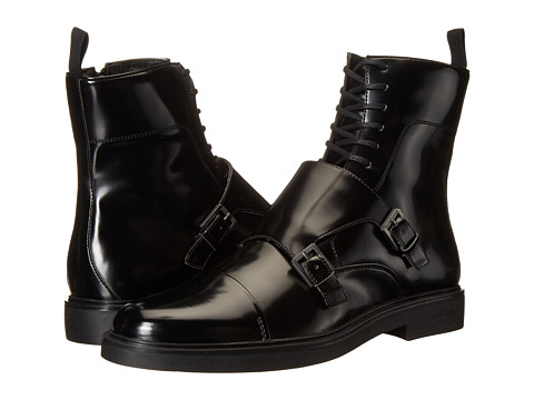 Calvin Klein - Davis (Black Box Smooth) Men's Boots