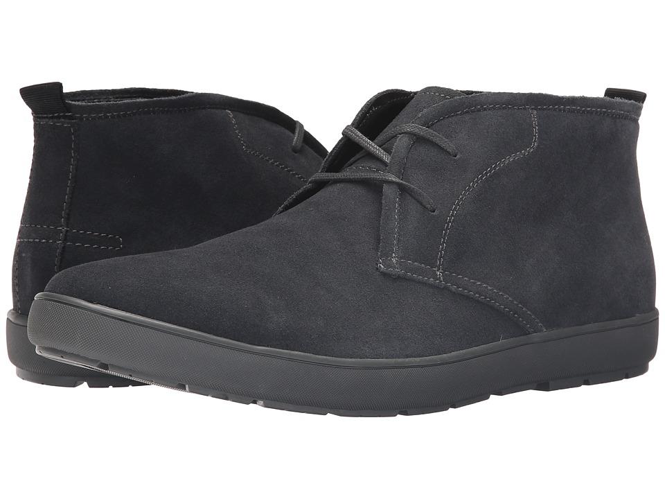Calvin Klein - Nowles (Dark Grey Suede) Men's Lace-up Boots