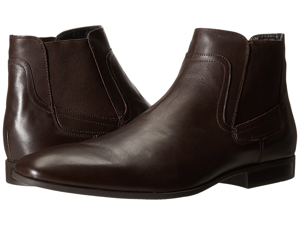 Calvin Klein - Clarke (Dark Brown Leather) Men