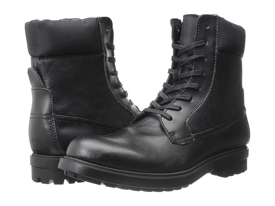 Calvin Klein - Gable (Black/Black Leather/Nylon) Men