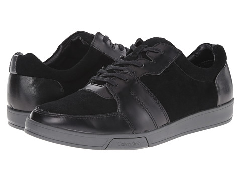Calvin Klein - Bane (Black/Grey Suede/Action) Men