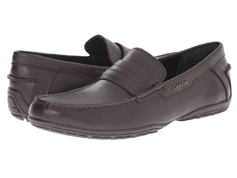Calvin Klein - Walden (Dark Brown Leather) Men