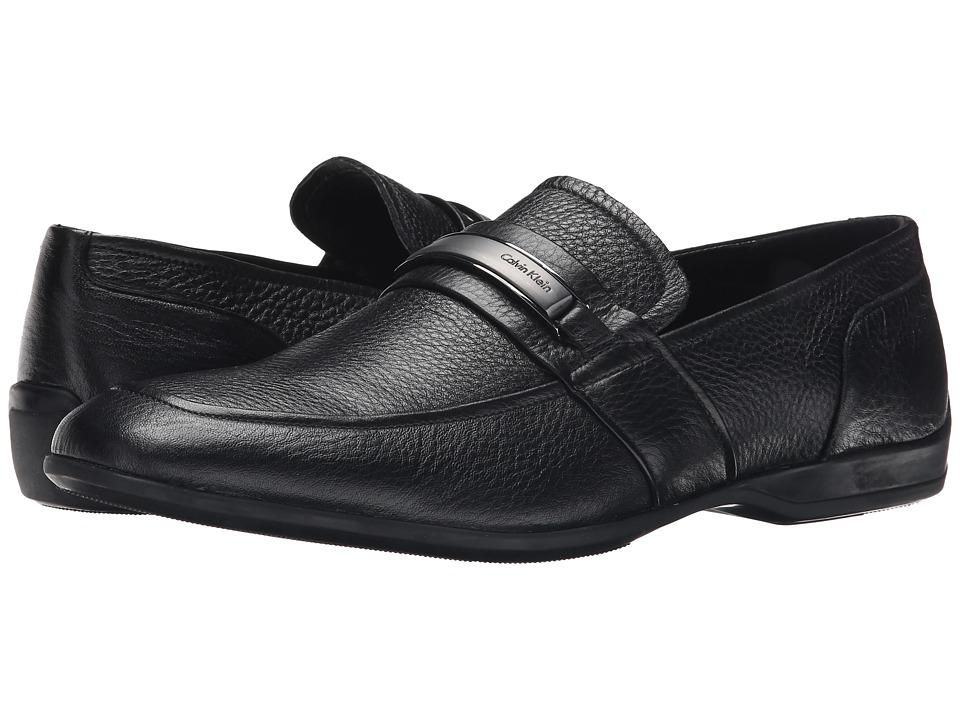 Calvin Klein - Varen (Black Leather) Men