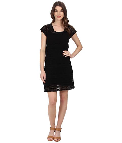 Mod-o-doc - Twofer Dress Cover-up (Black) Women's Dress
