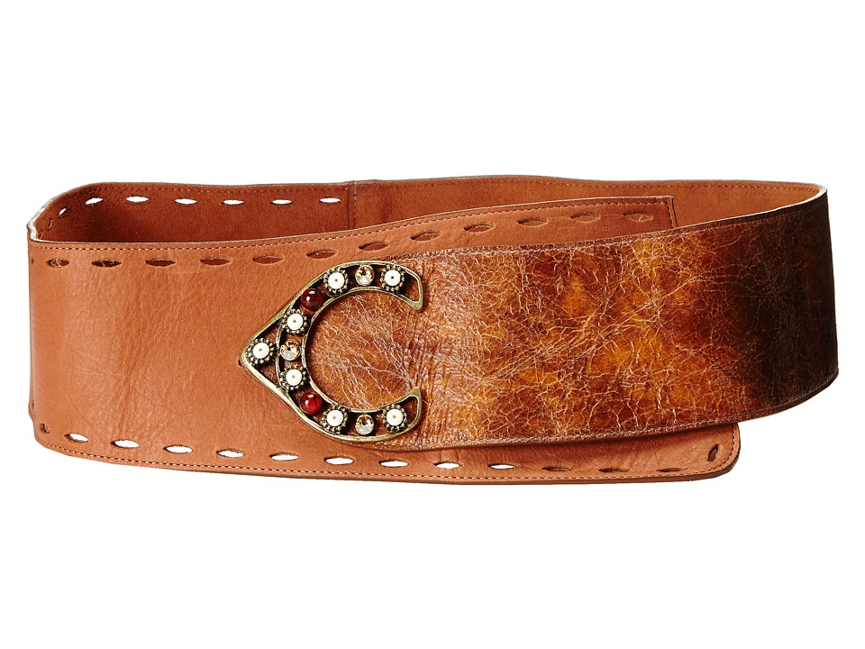 Leatherock - 1441 (Cognac) Women's Belts