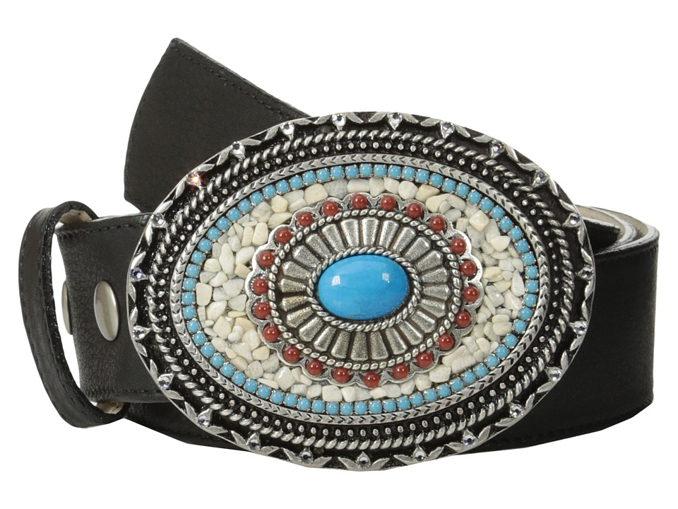 Leatherock - 9123 (Black) Women's Belts