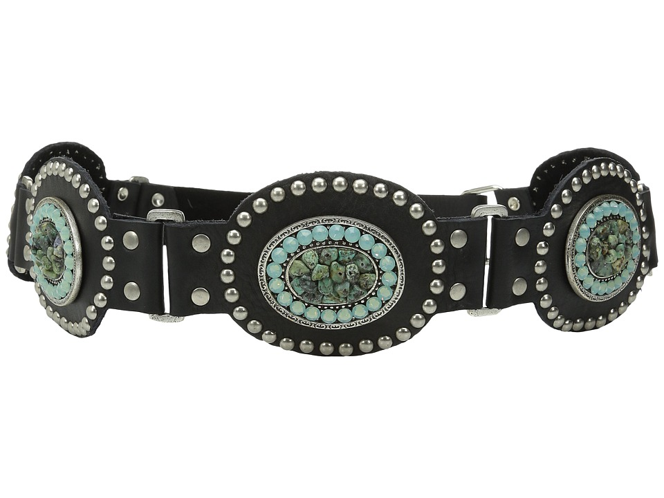Leatherock - 1367 (Black) Women's Belts