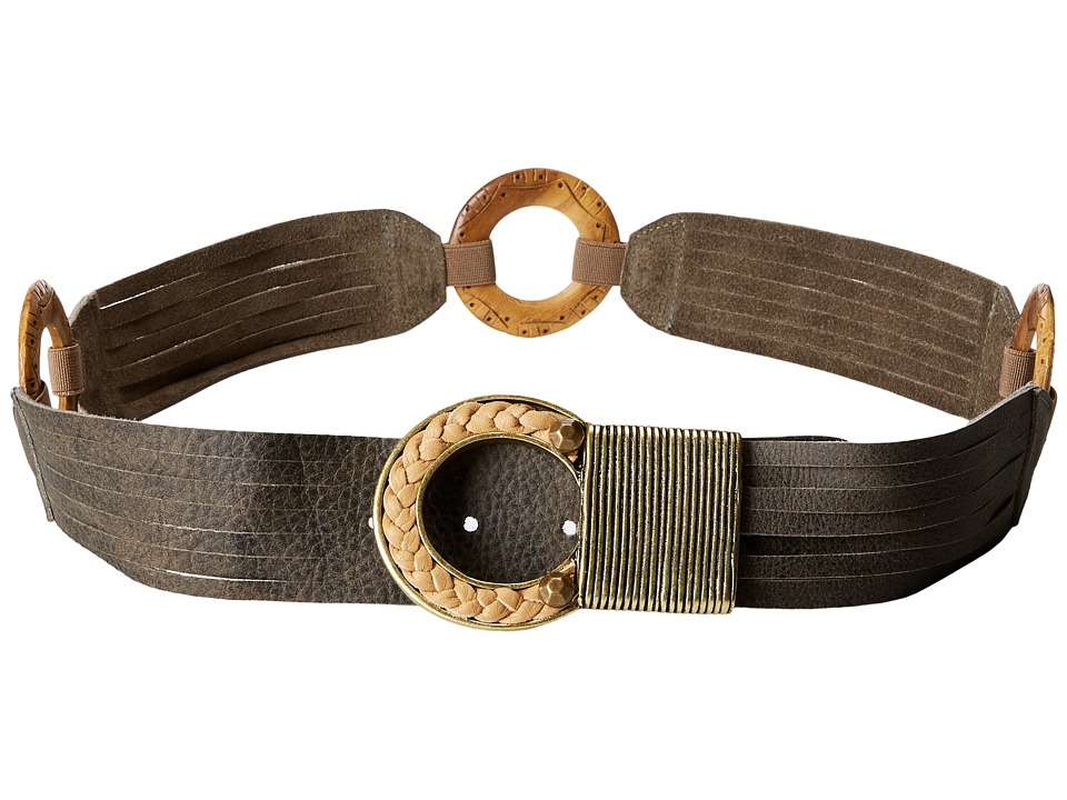 Leatherock - 1136 (Grey) Women's Belts