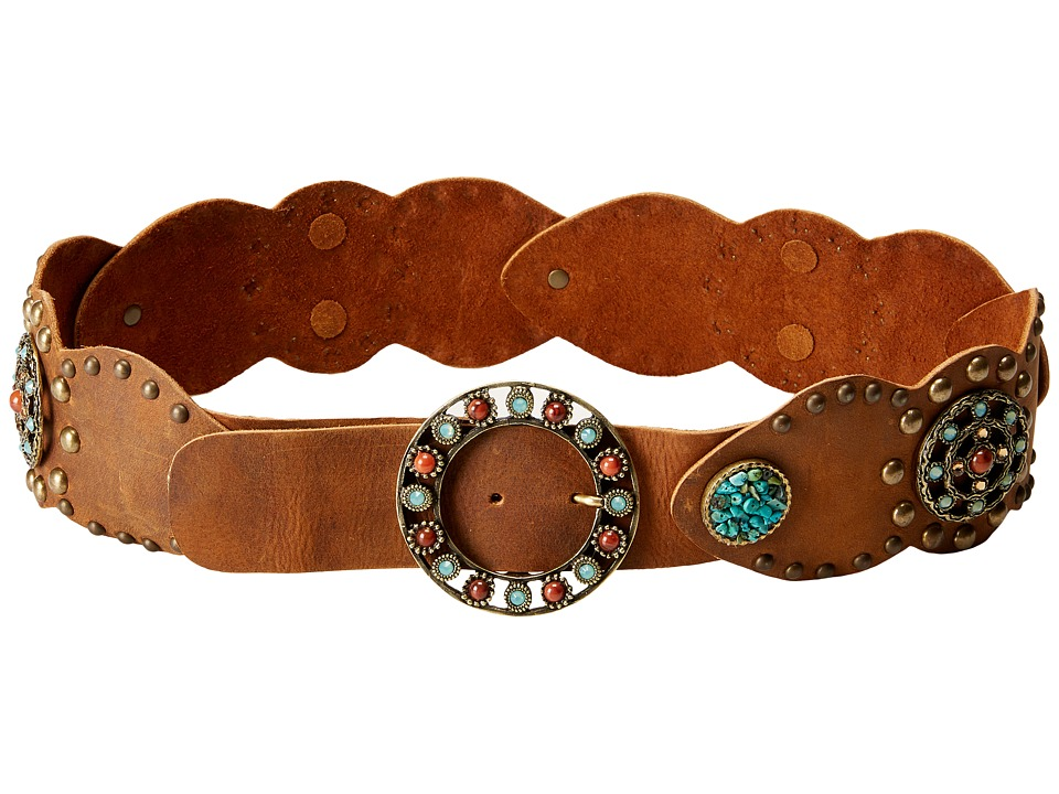 Leatherock - 1487 (Tobacco) Women's Belts