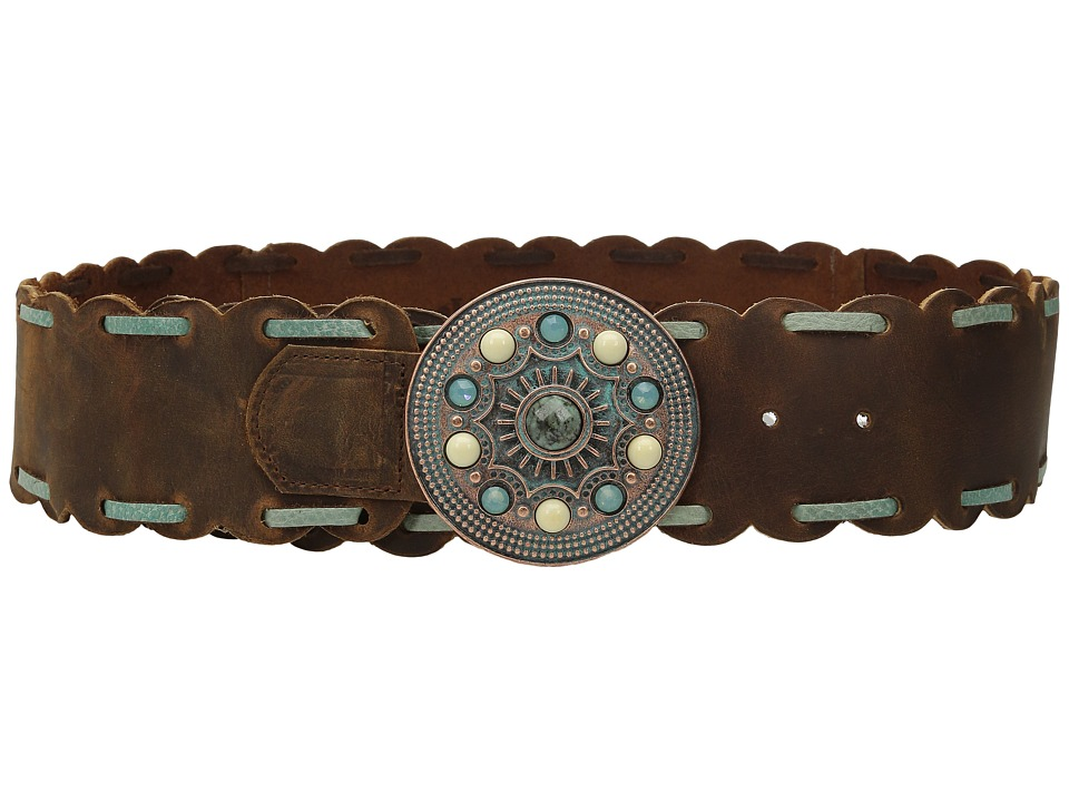 Leatherock - 1402 (Tobacco) Women's Belts
