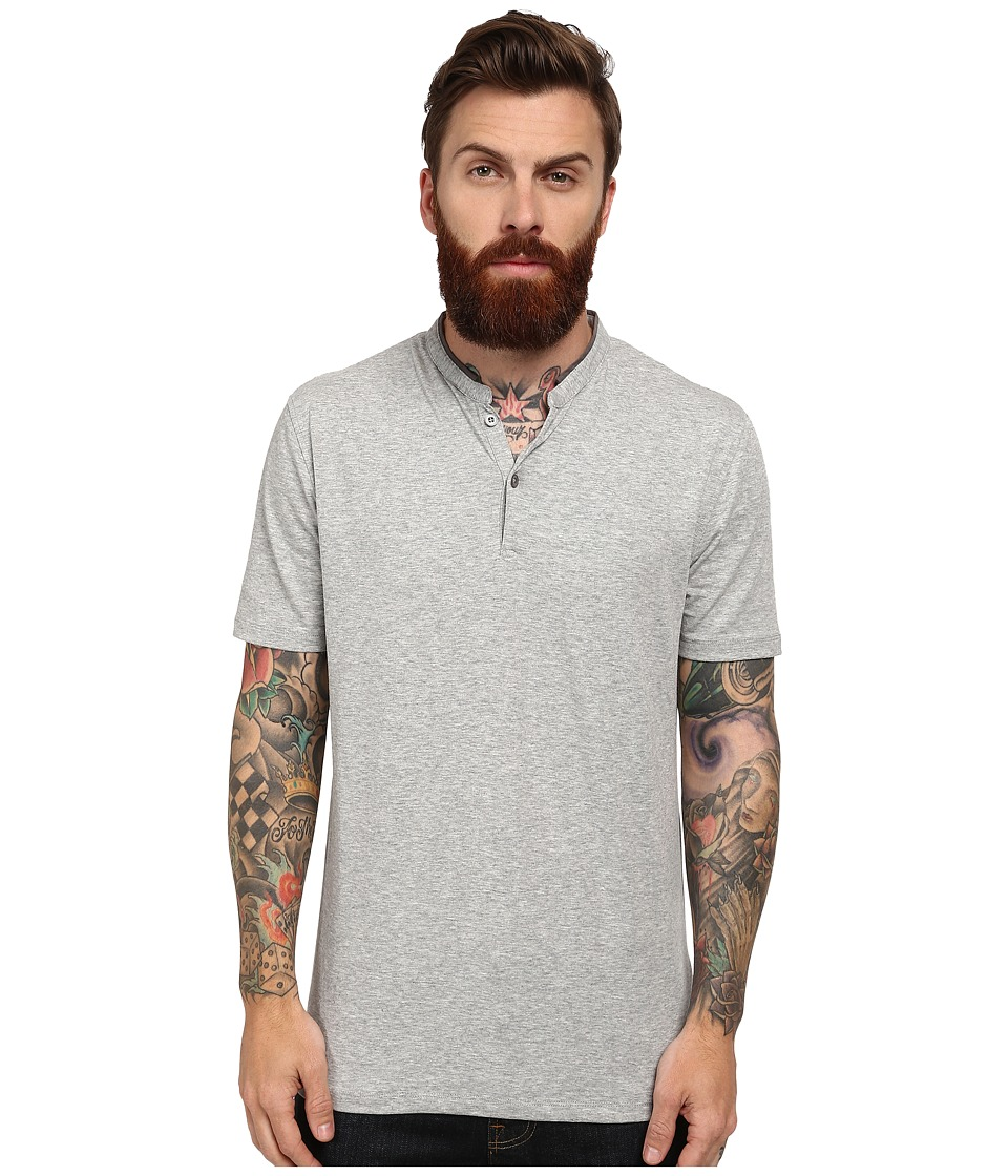 7 Diamonds - Carnegie Top (Heather Grey) Men