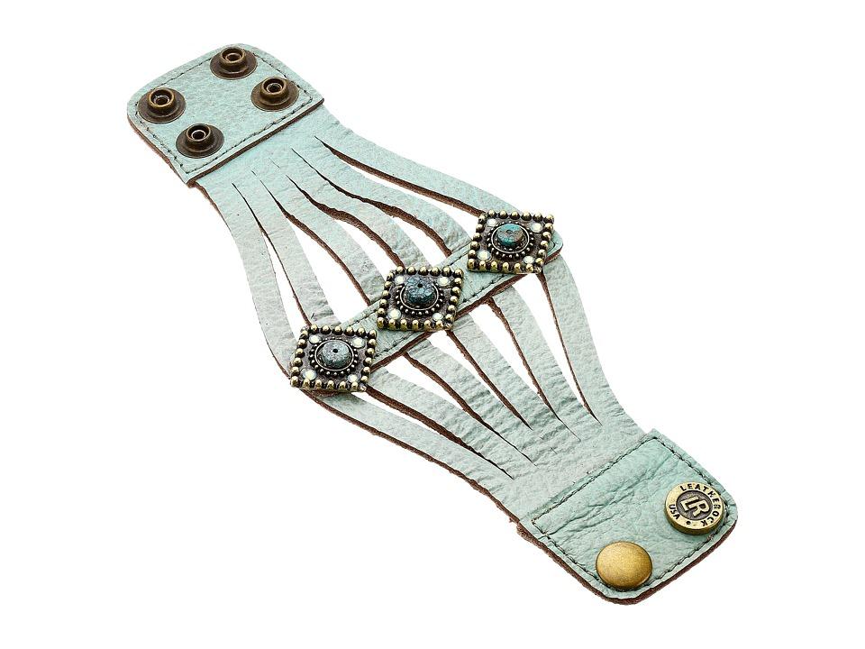 Leatherock - B686 (Turquoise) Bracelet