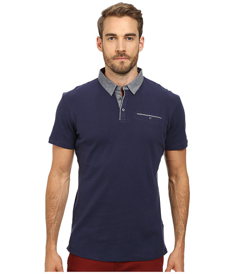 7 Diamonds - Collider Polo (Navy) Men