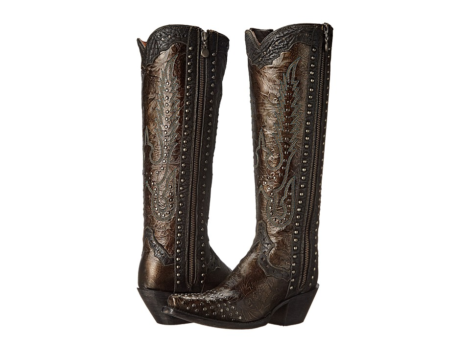 Dan Post - Tempted (Dark Taupe) Cowboy Boots