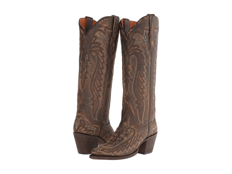 Dan Post - Heather (Distressed Brown) Cowboy Boots