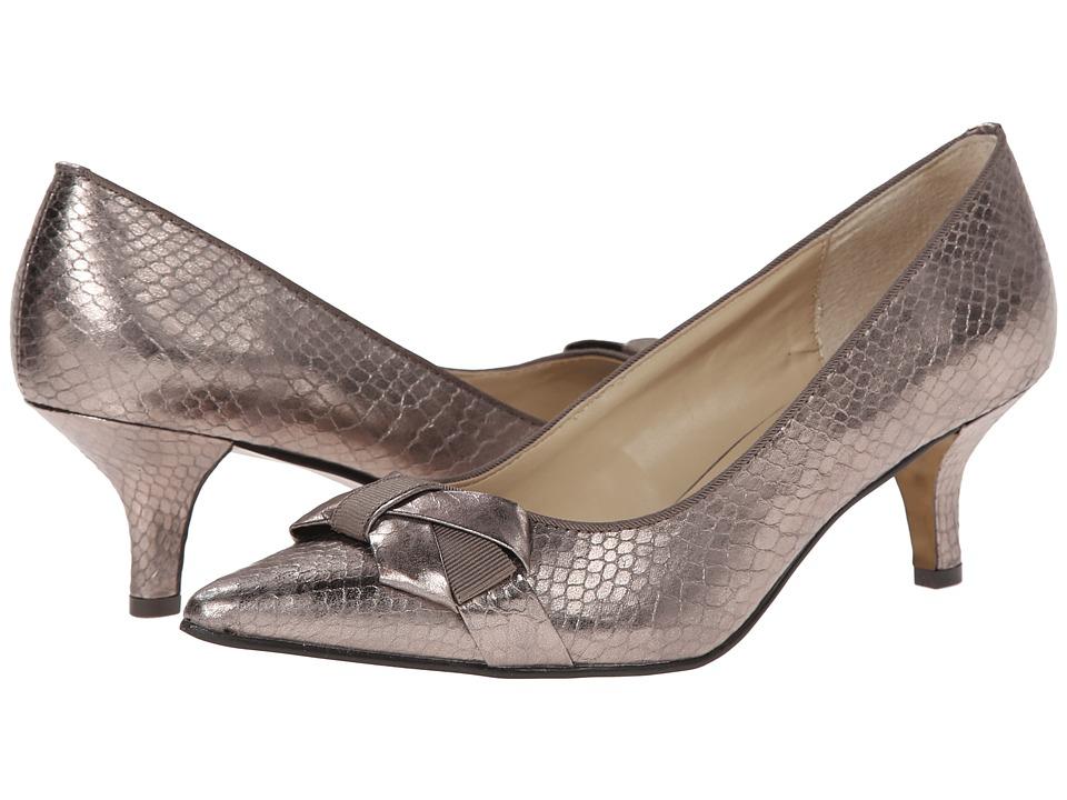 Adrienne Vittadini - Peridot-1 (Champagne Snake Print) High Heels