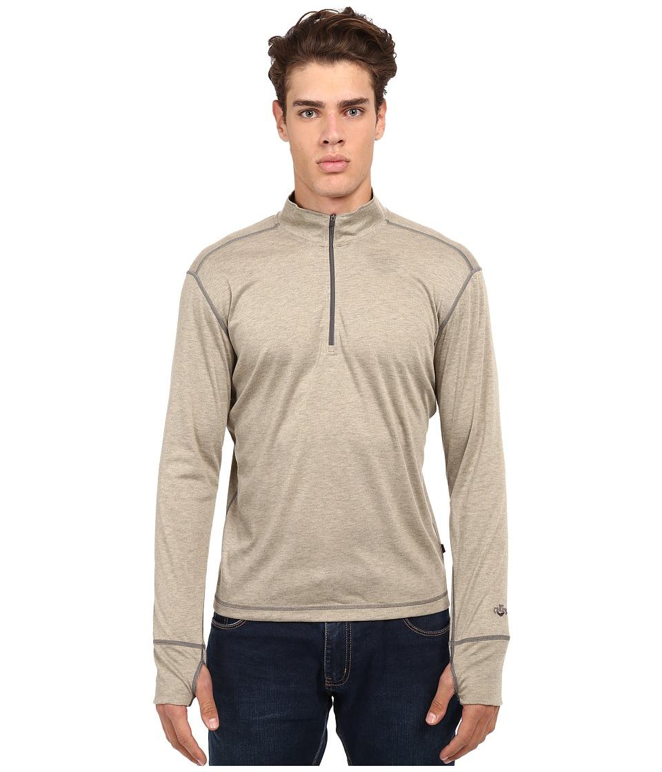 Hot Chillys Geo Pro Zip-T (Mojave Heather) Men's Sweatshirt