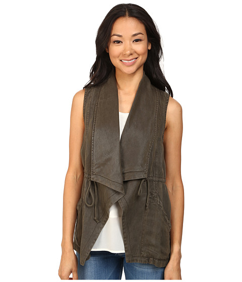 Sanctuary - Globe Trekker Vest (Brown Olive) Women