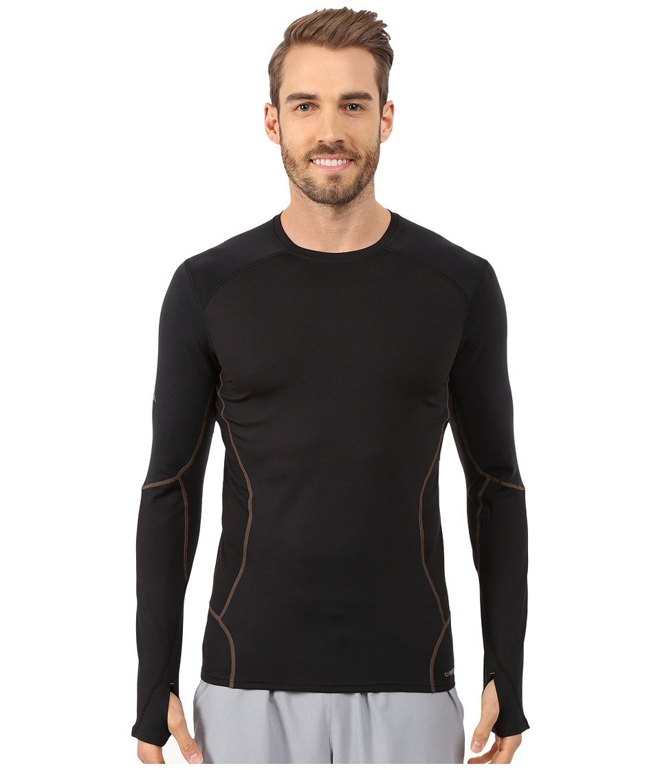 Hot Chillys - F9 Endurance 8K Crew (Black/Black) Men's Short Sleeve Pullover