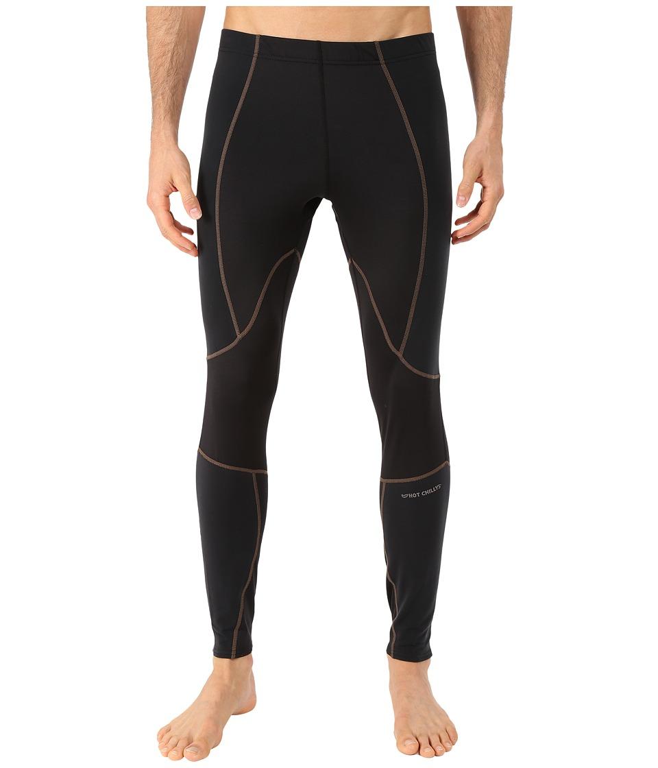 Hot Chillys - F9 Endurance 8K Tights (Black/Black) Men's Casual Pants