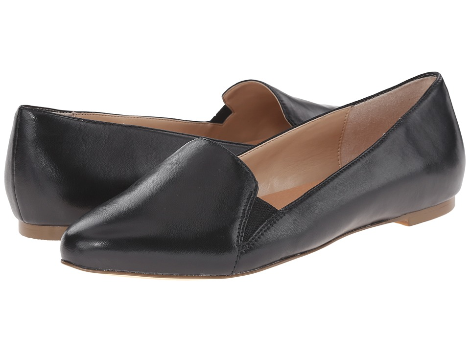 Dr. Scholl's - Require Original Collection (Black Leather) Women's Flat Shoes