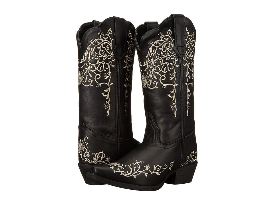 Laredo - Jasmine (Black/Cream) Cowboy Boots