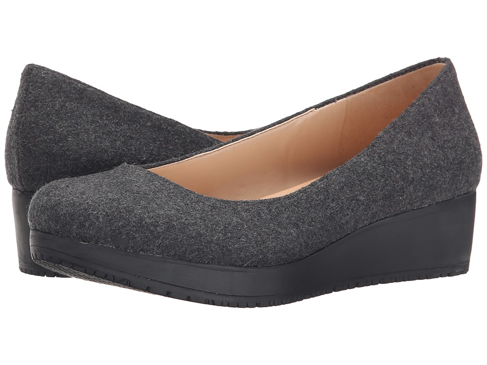 Dr. Scholl's - Sadie - Original Collection (Charcoal) Women's Flat Shoes