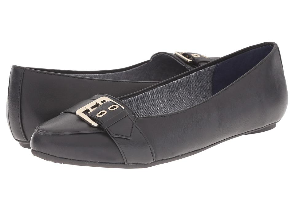 Dr. Scholl's - Rouge (Black) Women's Flat Shoes