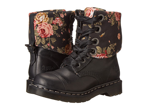 Dr. Martens - Triumph 1914 (Black Polished Wyoming) Women