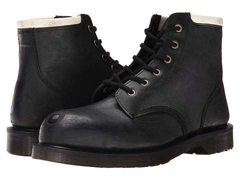 Dr. Martens - Tower (Black Scoured Vintage Haircell) Men's Shoes