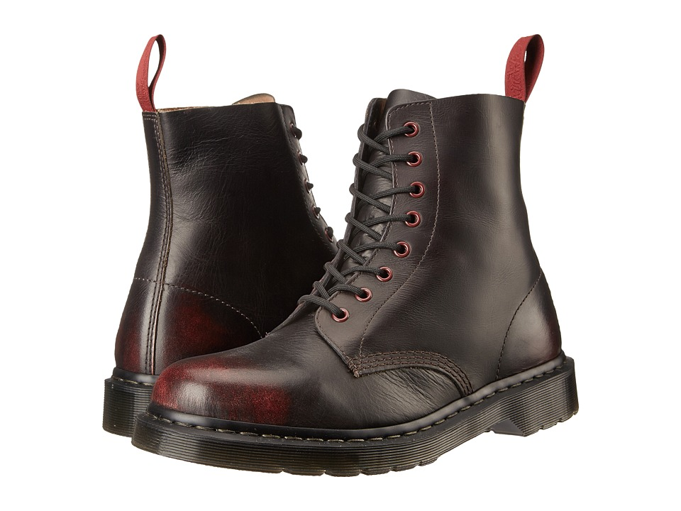 Dr. Martens - Pascal (Cherry Red Pablo) Men's Shoes