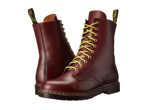 Dr. Martens - Austins (Oxblood Beaten Vintage Smooth) Men's Shoes