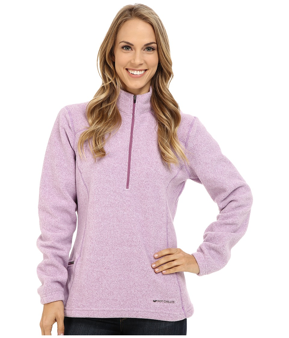Hot Chillys - Baja Pocket Zip-T (Candyland) Women's T Shirt