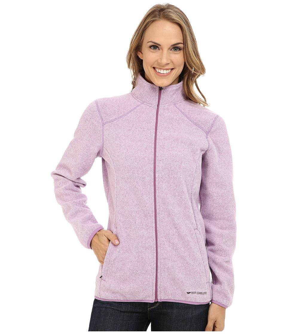 Hot Chillys - Baja Zip Jacket w/ Binding (Candyland) Women's Coat