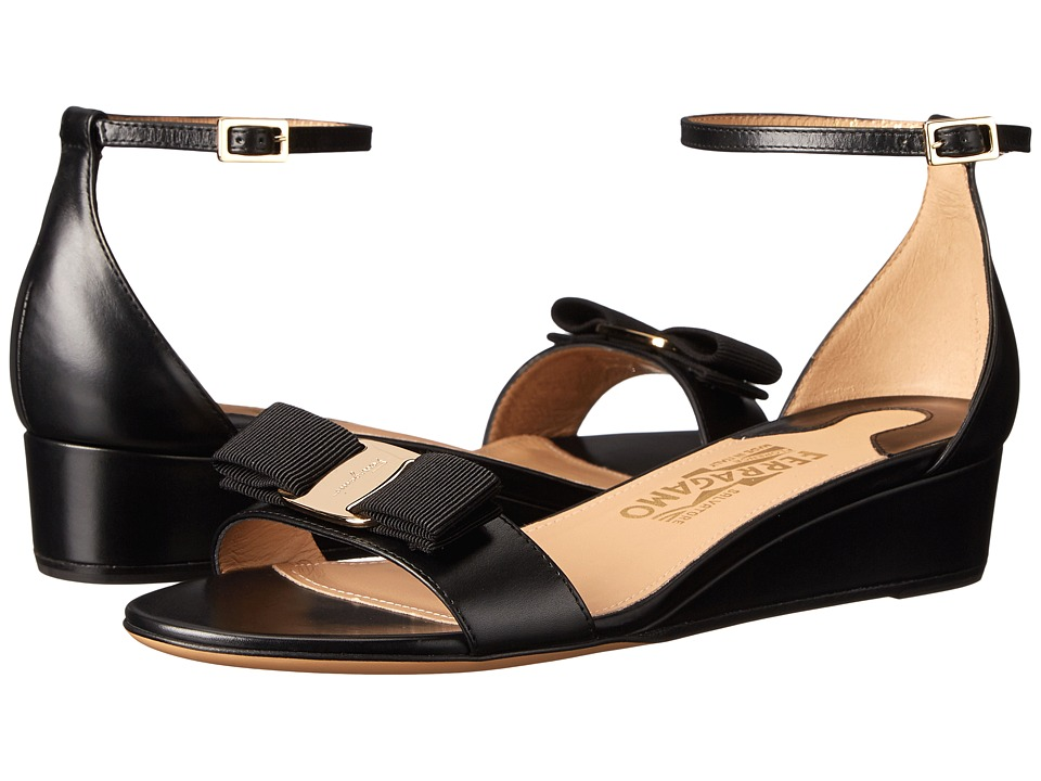 Salvatore Ferragamo - Margot (Nero Rubens Calf) Women
