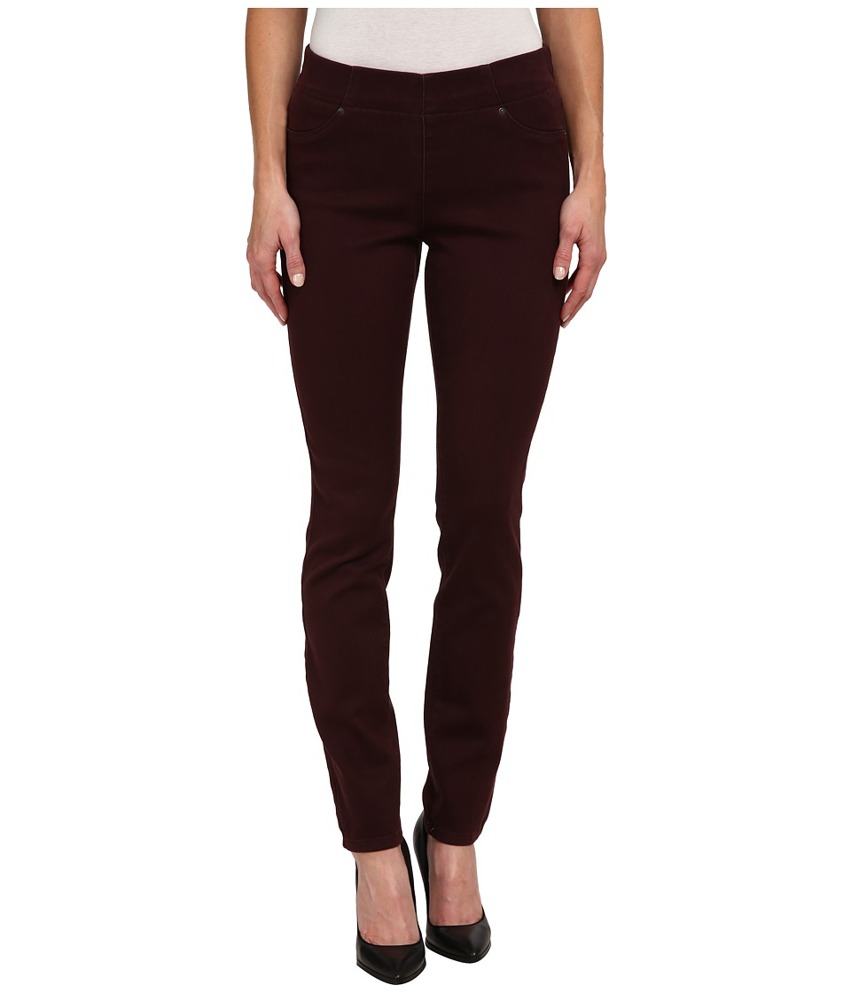 NYDJ - Joanie Skinny Pull On Leggings (Brandy Wine) Women's Casual Pants