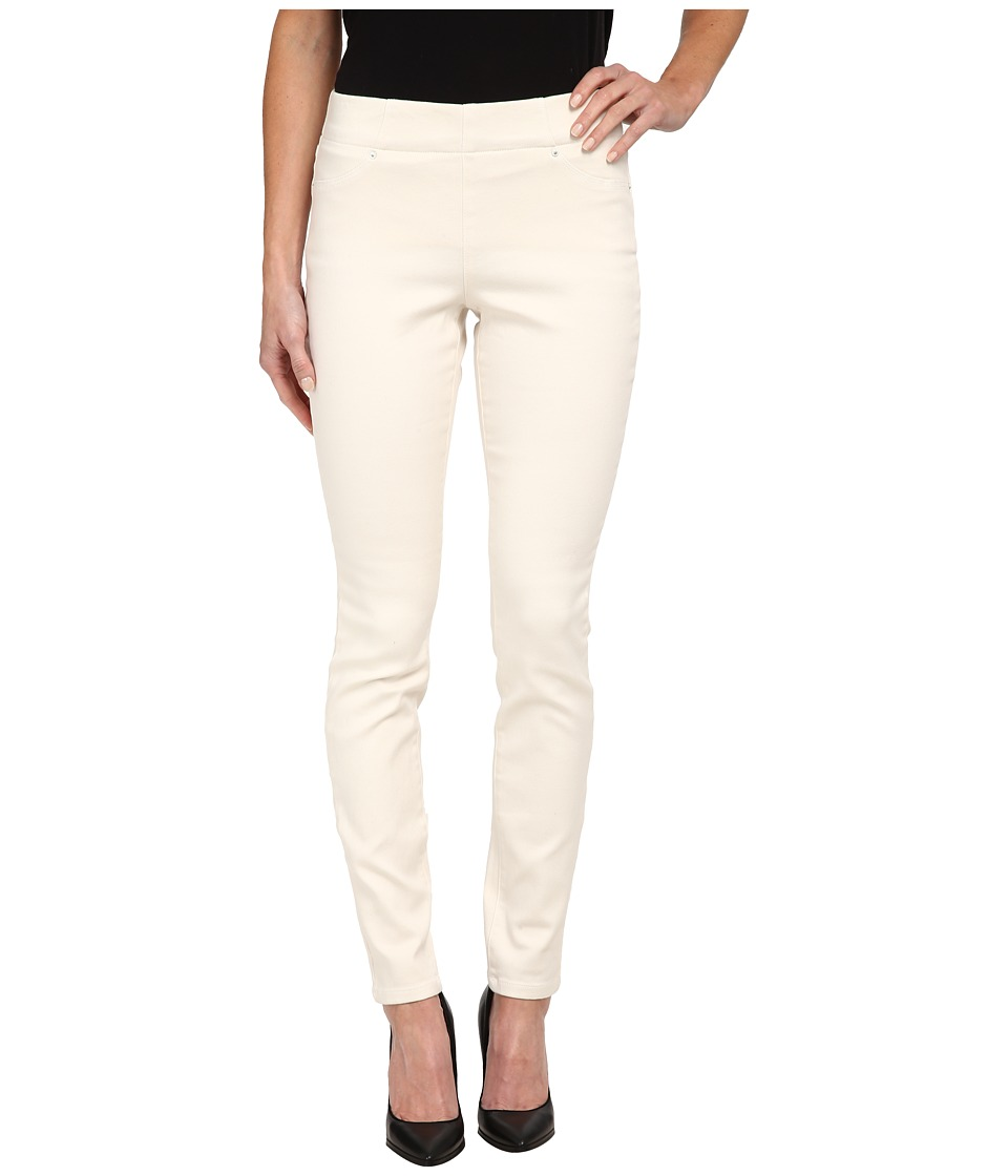 NYDJ - Joanie Skinny Pull On Leggings (Cream) Women's Casual Pants