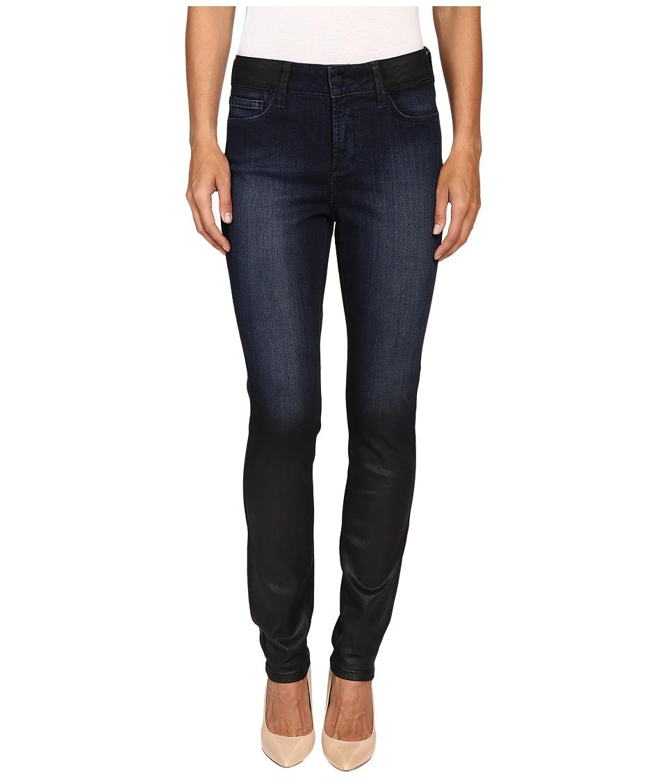 NYDJ - Alina Novelty Leggings in Black Coal (Black Coal) Women's Jeans