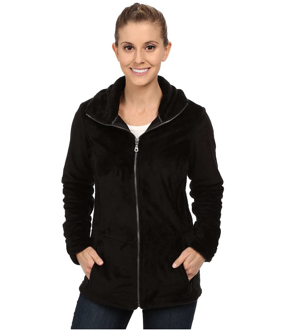 Hot Chillys - La Reina Zip Jacket (Black) Women's Coat