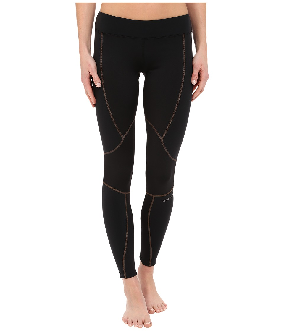 Hot Chillys - F9 Endurance 8K Tights (Black/Black) Women's Casual Pants