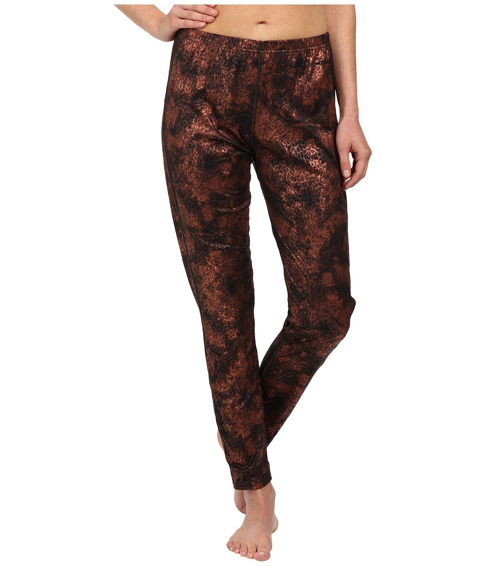 Hot Chillys - Peach Print Bottom (Copper Cheetah) Women