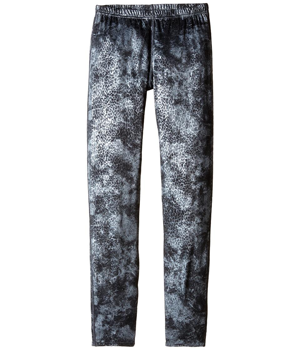 Hot Chillys - Peach Print Bottom (Silver Cheetah) Women's Outerwear