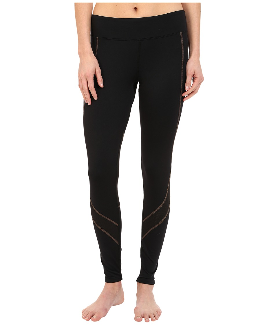 Hot Chillys - F8 Performance 8K Tights (Black/Black) Women's Casual Pants