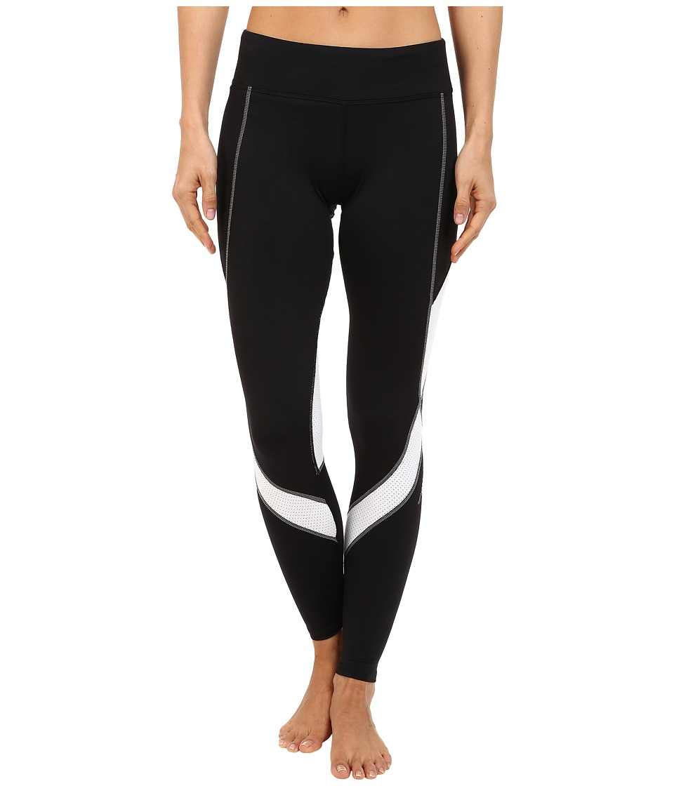 Hot Chillys - F8 Performance 8K Tights (Black/White) Women's Casual Pants