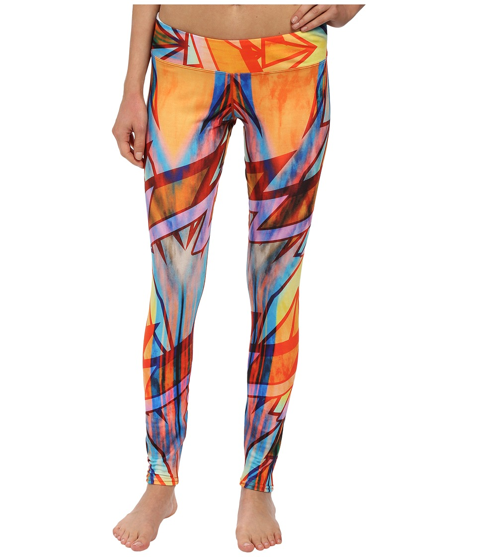 Hot Chillys - MTF Sublimated Print Tight (Electric Circus) Women's Outerwear
