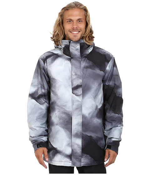 Quiksilver - Mission Insulated Snow Jacket (Fogfisher) Men's Coat