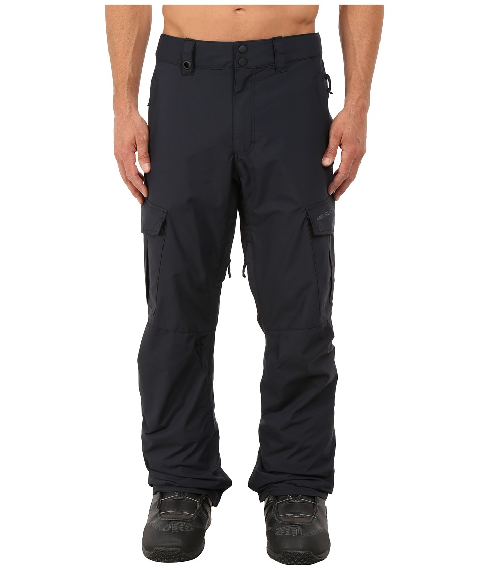 Quiksilver - Mission Shell Snow Pants (Anthracite) Men's Casual Pants