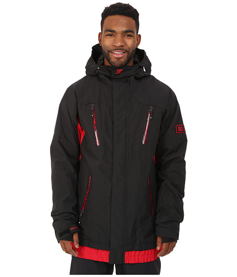 DC - Torstein Corruption Snow Jacket (Anthracite) Men's Jacket
