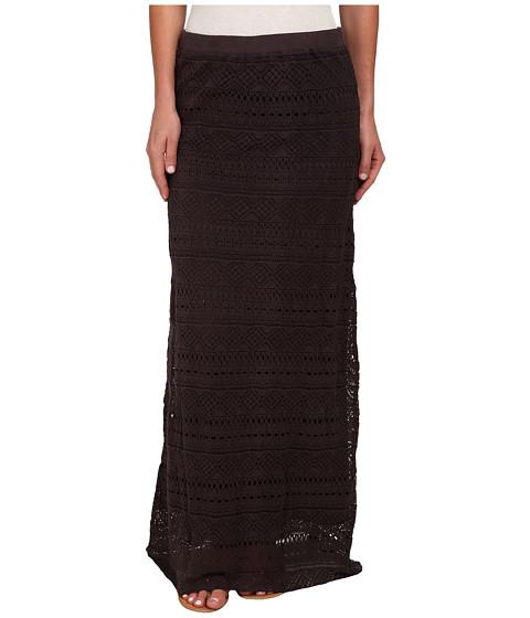 Mod-o-doc - Long Pull-On Skirt (Cinder) Women's Skirt